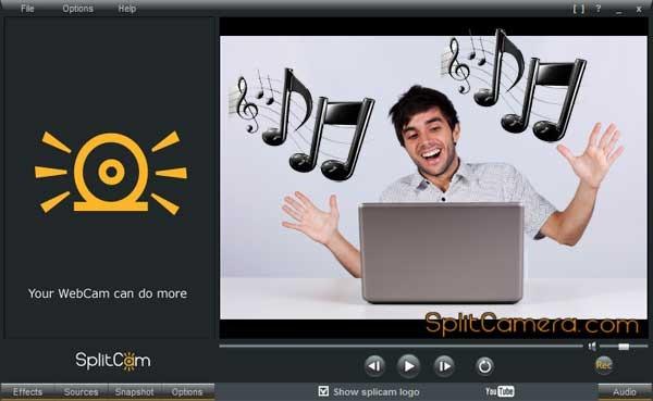 SplitCam With Audio