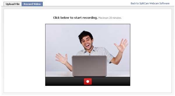 Facebook SplitCam Video
