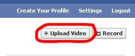 Facebook Upload Video