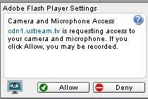 Ustream Flash
