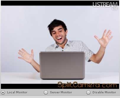 Ustreamtv SplitCam