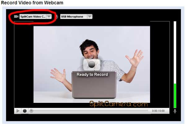 YouTube SplitCam