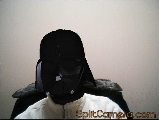 3d effect Darth Vader