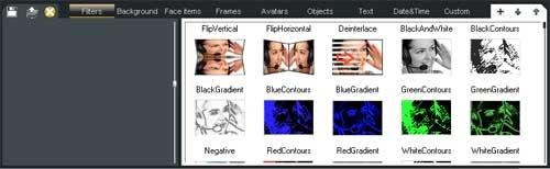 SplitCam Filters Effects