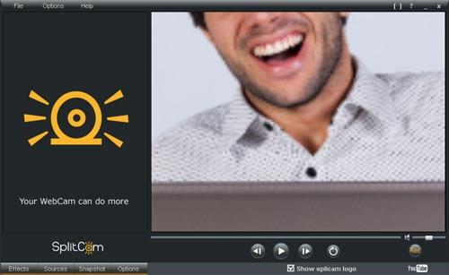 SplitCam Zoomed In
