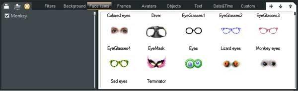 SplitCam Eyes Effects