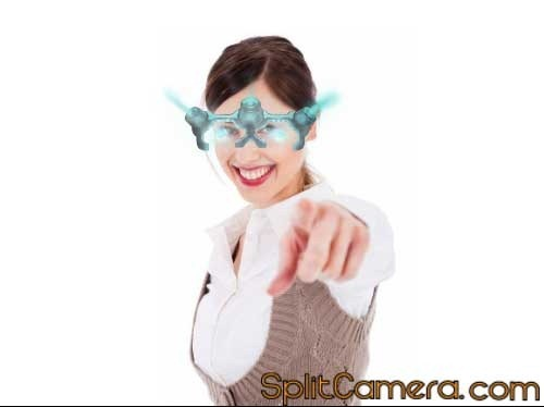 Light Glasses Effect