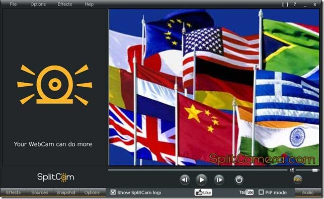 Multilingual SplitCam